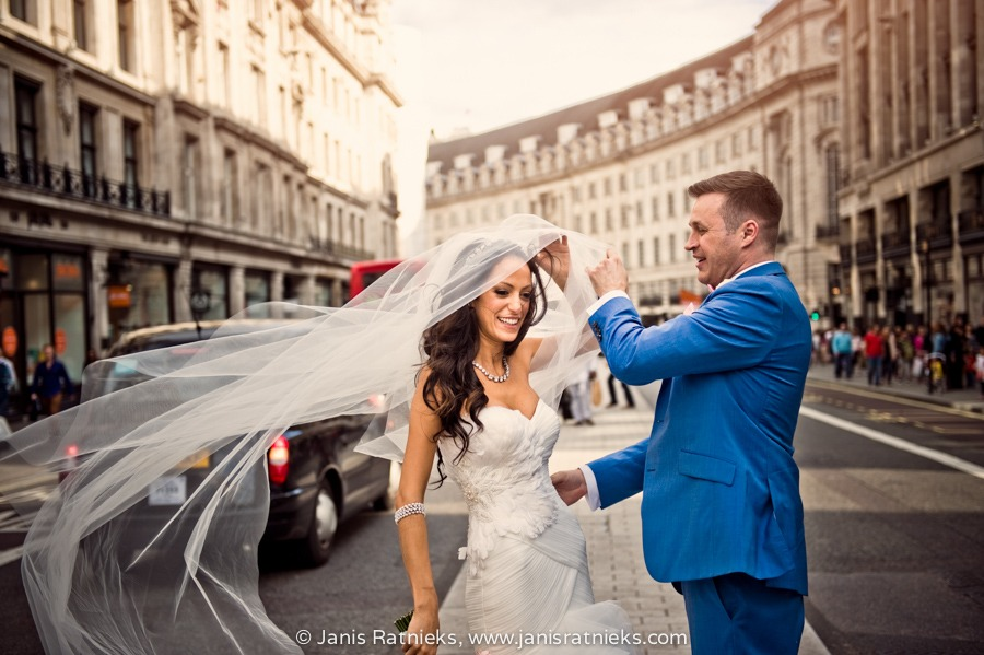 London Regent street weddings