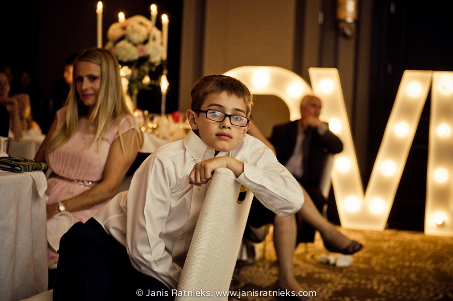 bored kid at weddings