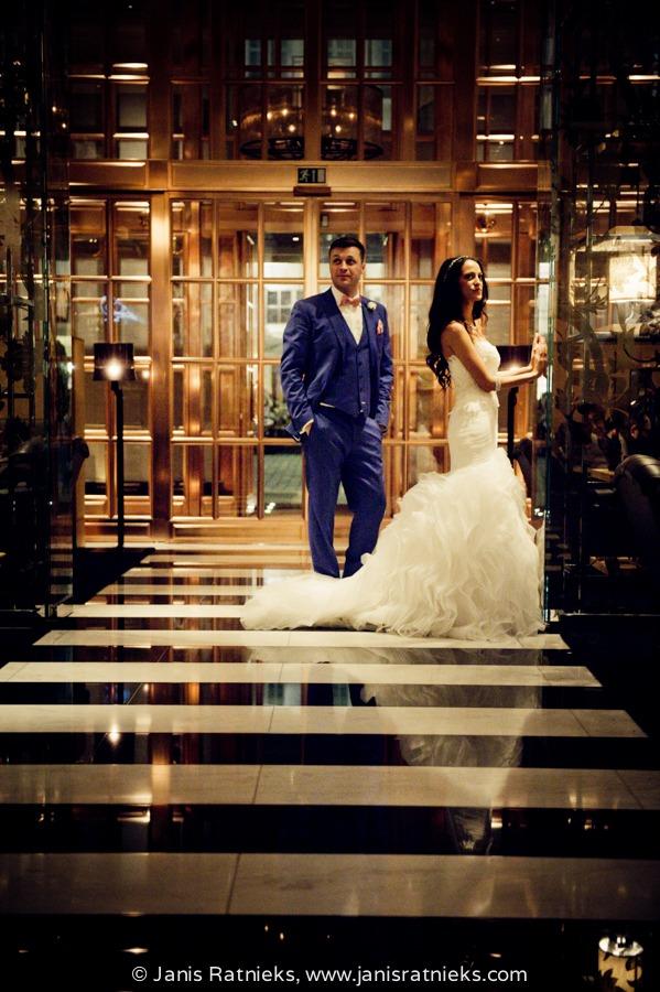 rosewood lobby shiny floor
