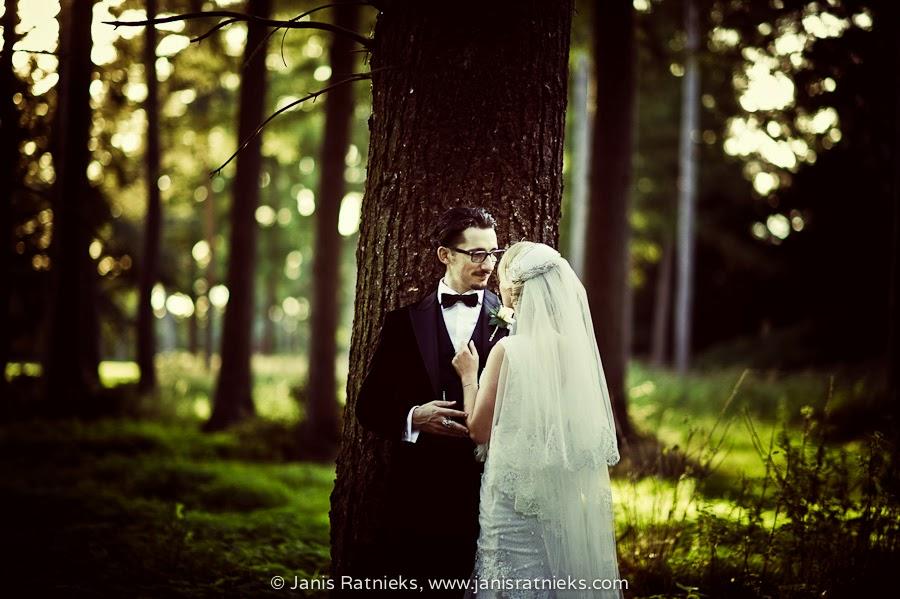 blurred background forest wedding photos