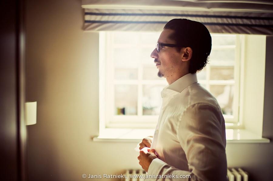 british groom getting ready