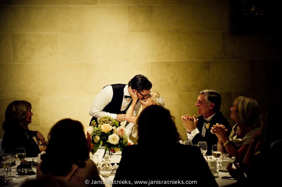 kiss newlyweds