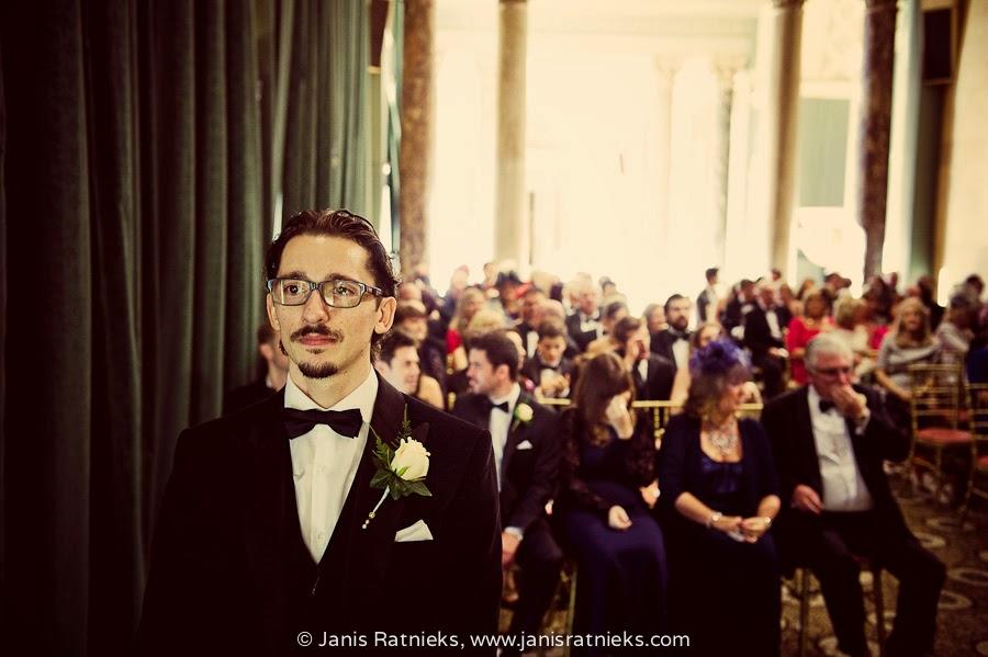 serious groom danny