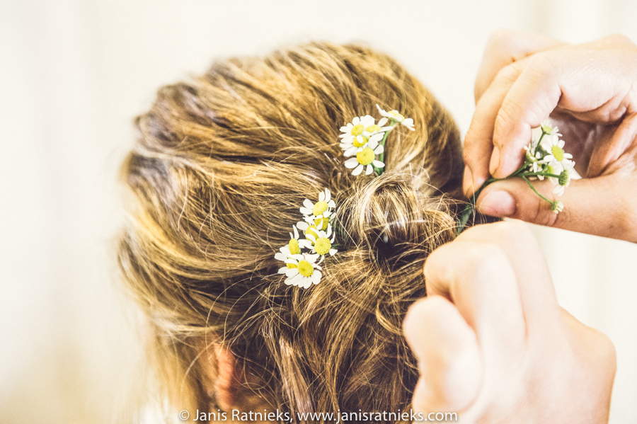 hairpiece styling