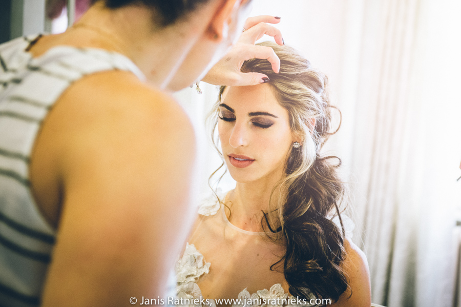 jewish wedding hairstylist