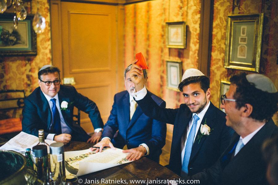 jewish wedding NW3