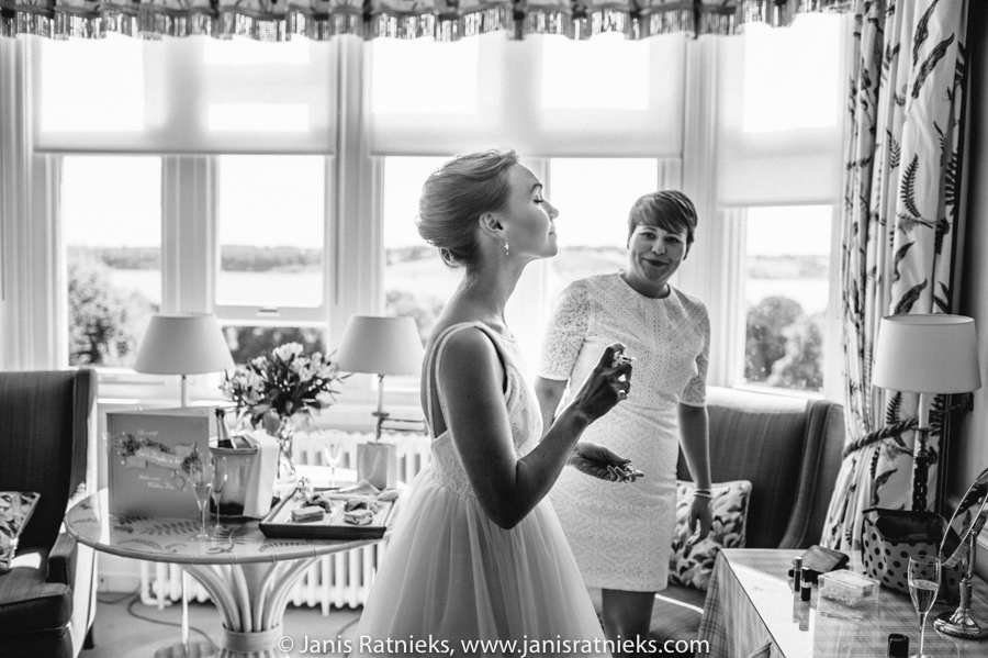 Hambleton Hall wedding photographer England