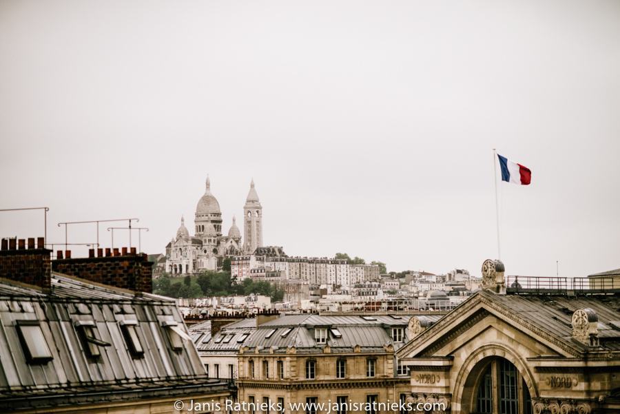 paris france rooftops