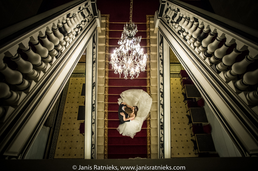 Sainte James Paris marriage