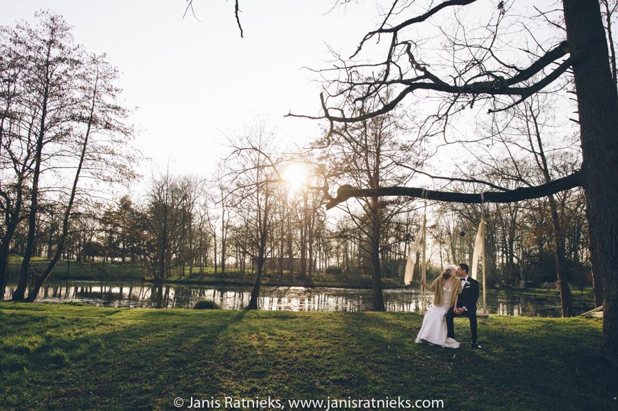 Park wedding France