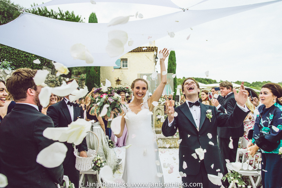 villa wedding French riviera