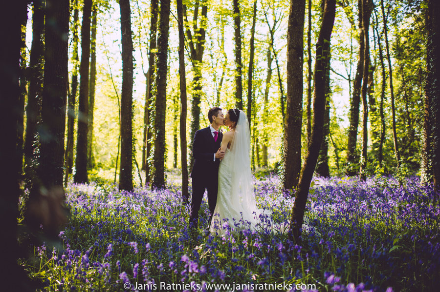 bluebell forest wedding