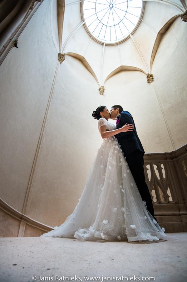 castle wedding china