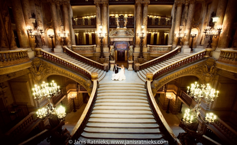 Paris Opera Wedding